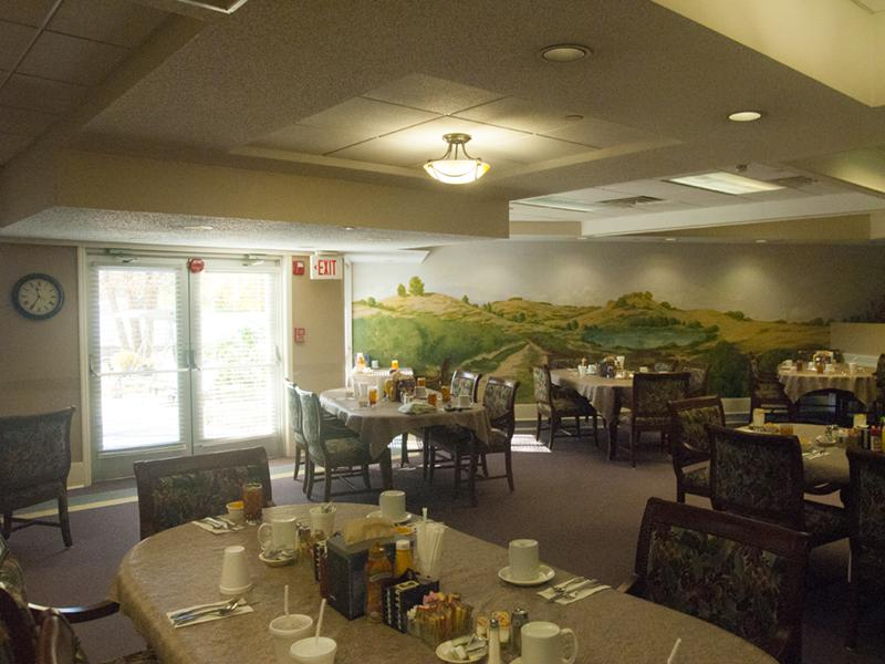 Dining Room Windsor Gardens Assisted Living