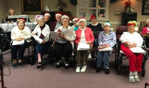 IMG 1760 1 300x177 - Today's Resident Christmas Party and Carol Concert were a hit!!!