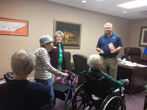 assisted living senior care administrator new monthly blog- What's Up at Windsor
