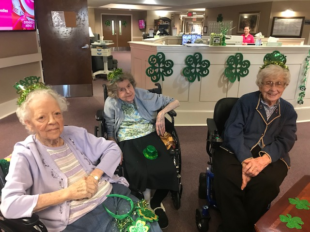 IMG 6923 - Happy St. Patrick's Day from Windsor Gardens Assisted Living