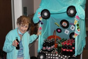 IMG 7903 300x200 - The residents enjoyed 50's SODA FOUNTAIN with soft drinks, and moon pies, and BINGO!!!