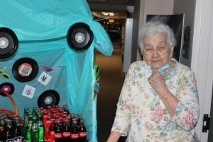 IMG 7906 300x200 - The residents enjoyed 50's SODA FOUNTAIN with soft drinks, and moon pies, and BINGO!!!