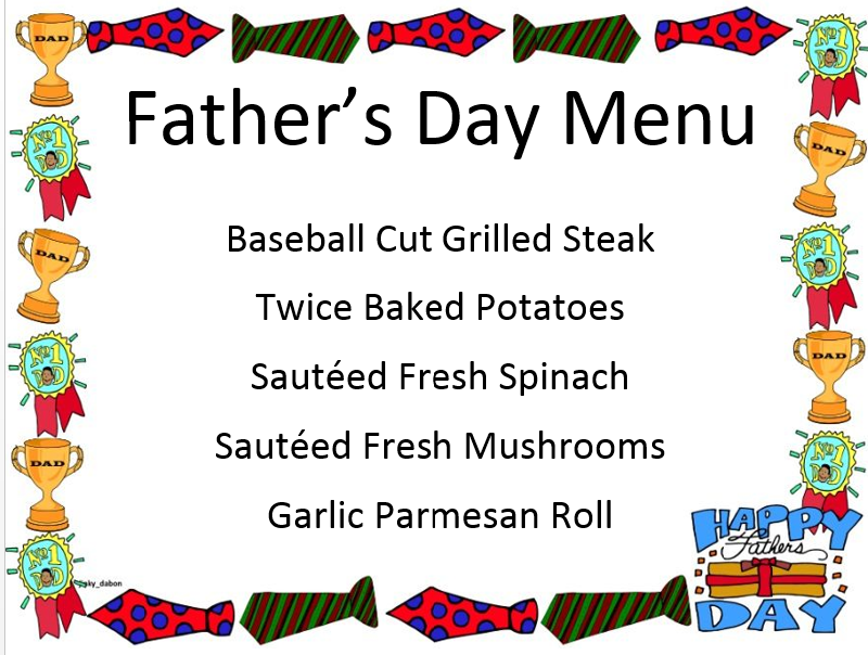 Screenshot 57 - Father's Day Menu
