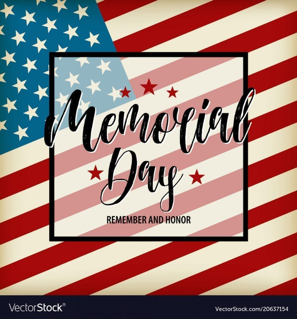 happy memorial day card national american vector 20637154 952x1024 - Happy Memorial Day from Windsor Gardens