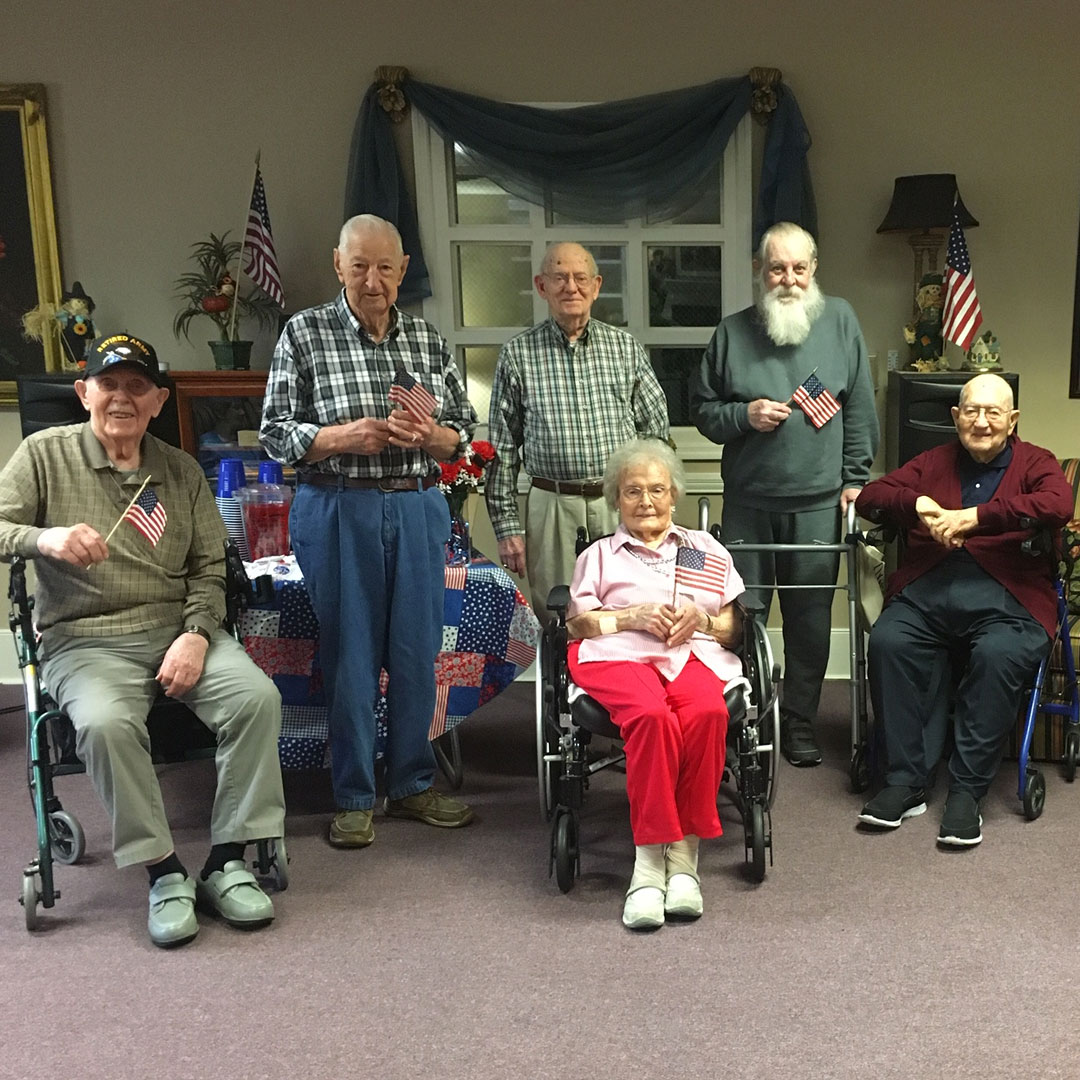 veterans - Life at Windsor Gardens